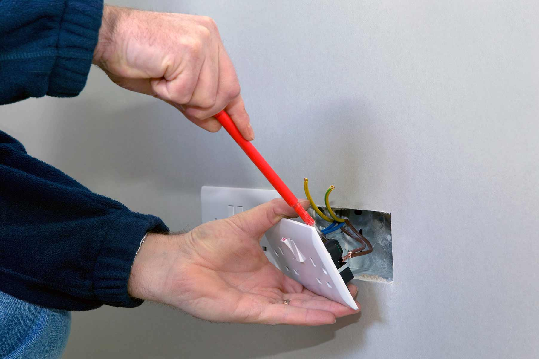 Our electricians can install plug sockets for domestic and commercial proeprties in South Woodford and the local area.